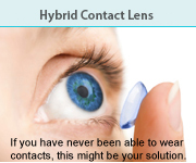Hybrid Contact Lens